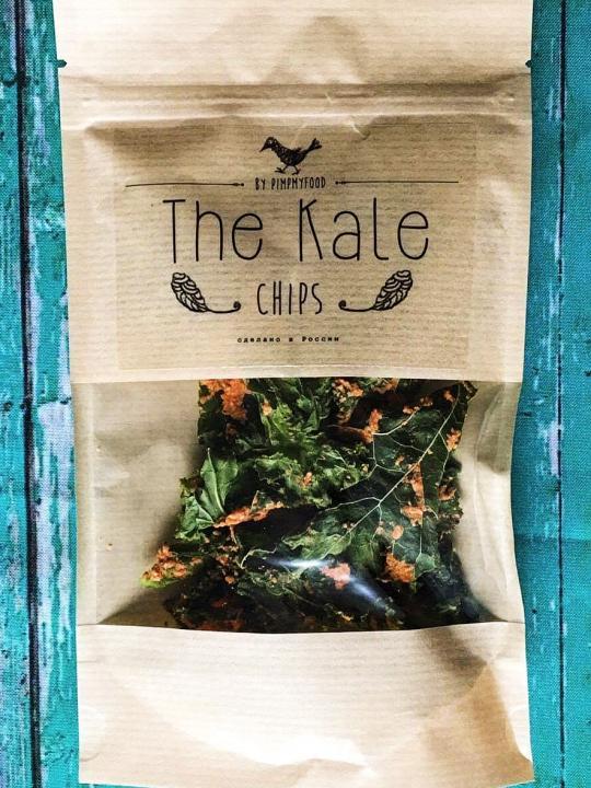 PIMPMYFOOD  - Kale chips